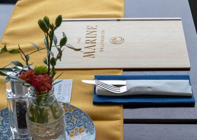 Menus The Marine Restaurant Ballybunion