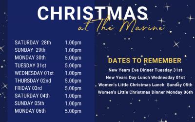 Christmas At The Marine