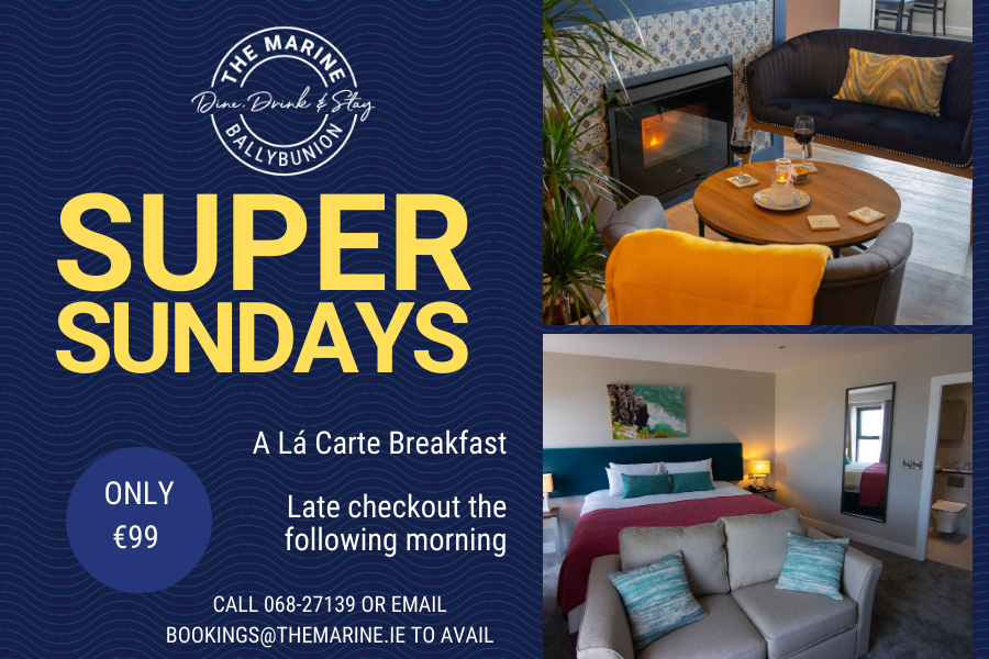 Super Sundays at The Marine Hotel Ballybunion