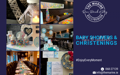 Baby Showers & Christenings at The Marine
